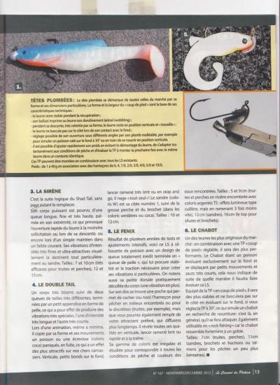 Gamme ORKA CANARD du Pêcheur de Carnassiers Novembre 2012 2