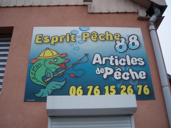 ESPRIT PECHE à GOLBEY ( EPINAL)