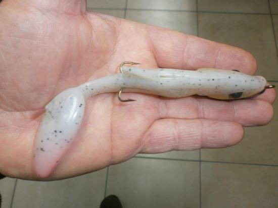 GEGULE 13cm + hameçon double